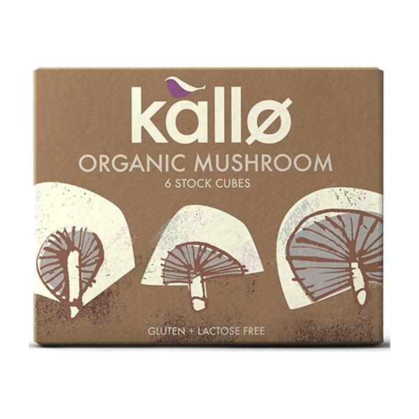 Kallo Organic Mushroom Stock Cubes