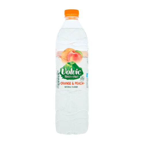 Volvic Touch of Fruit Orange & Peach