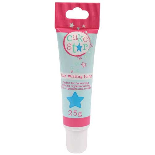 Cake Star Blue Writing Icing