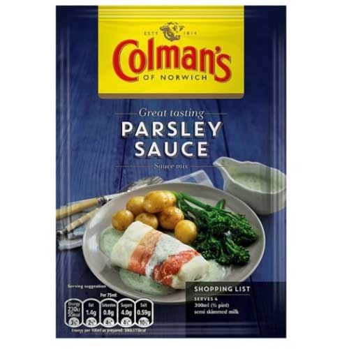 Colman's Parsley Sauce