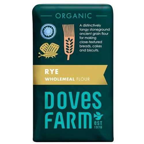 Doves Farm Organic Wholemeal Rye Flour